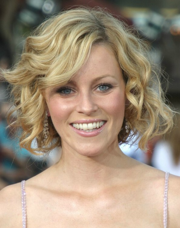 Elizabeth Banks Haircut Elizabeth Banks Wearing a