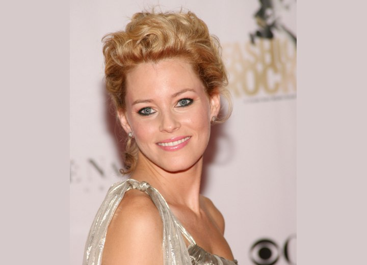 Elizabeth Banks - Updo with curls