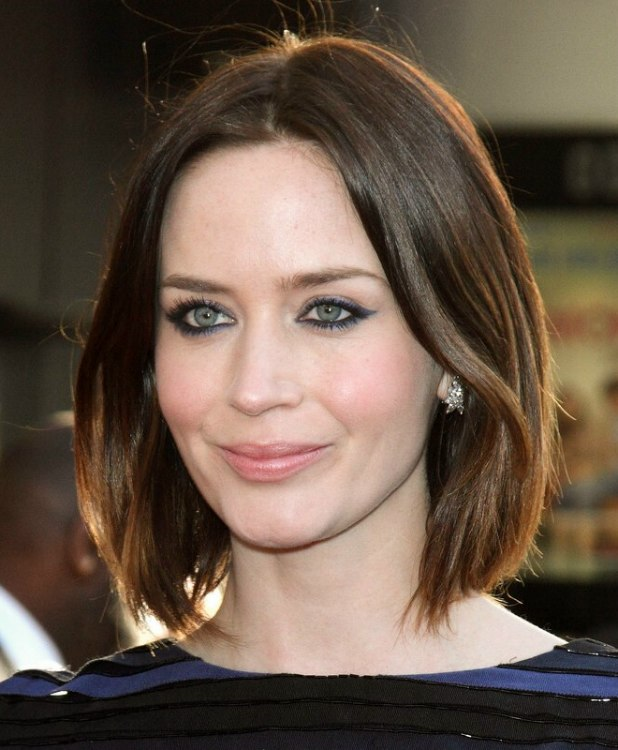 Emily Blunt's bob with...