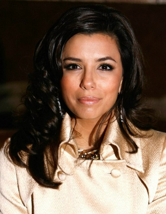 Eva Longoria Long And Bouncy Center Of The Back