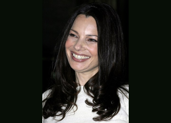 Long hairstyle for women aged over 40 - Fran Drescher