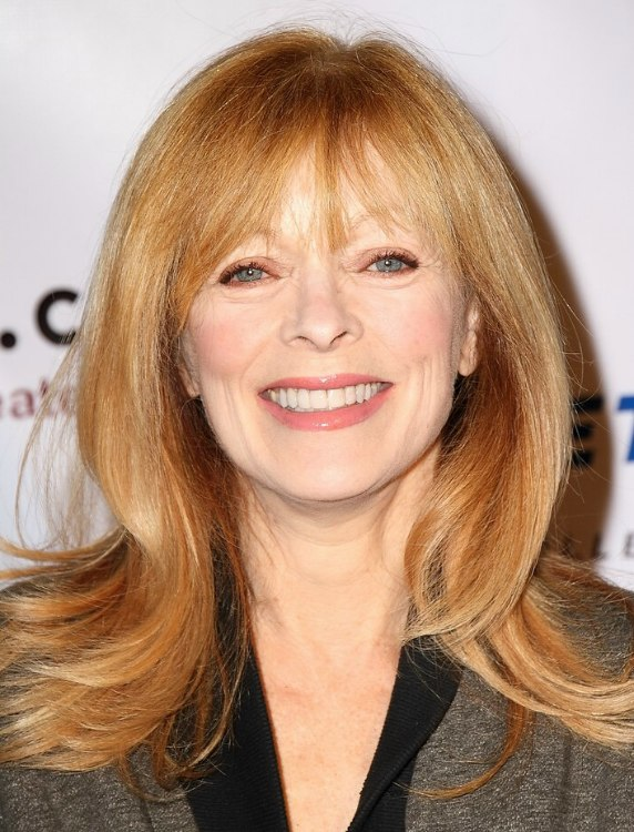 Light Reddish Blonde Hair Frances Fisher | Long ...