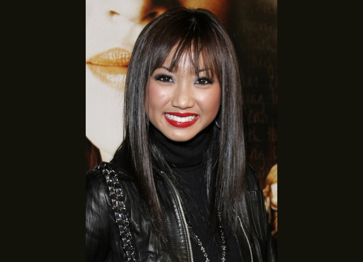 Brenda Song - Long and smooth Asian hairstyle