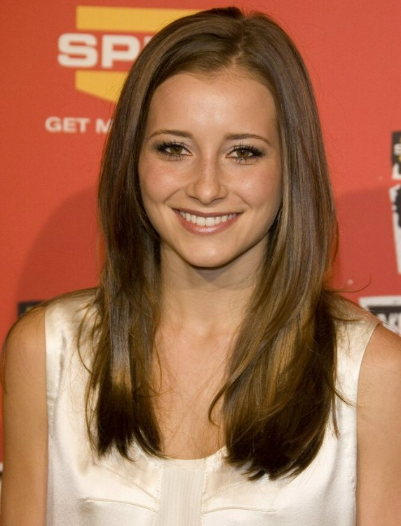 Candace Bailey Wearing Her Hair Long And Straight