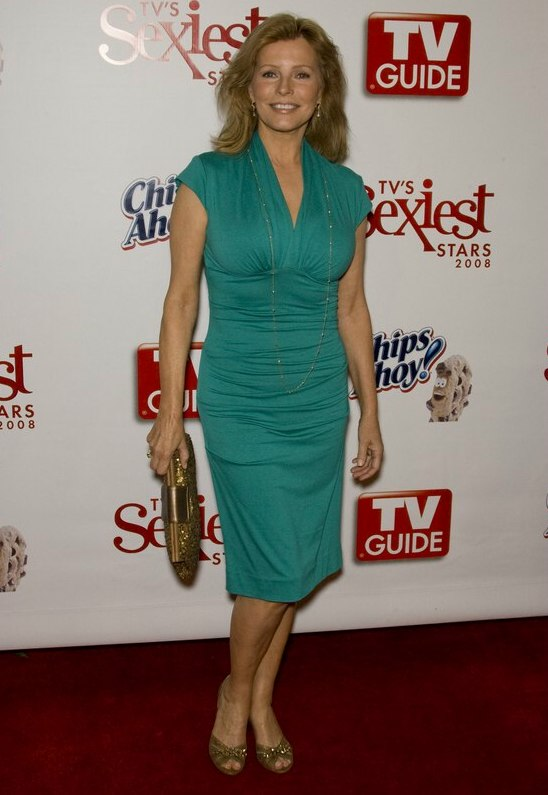 Cheryl Ladd Feminine And Soft Long Hairstyle With The