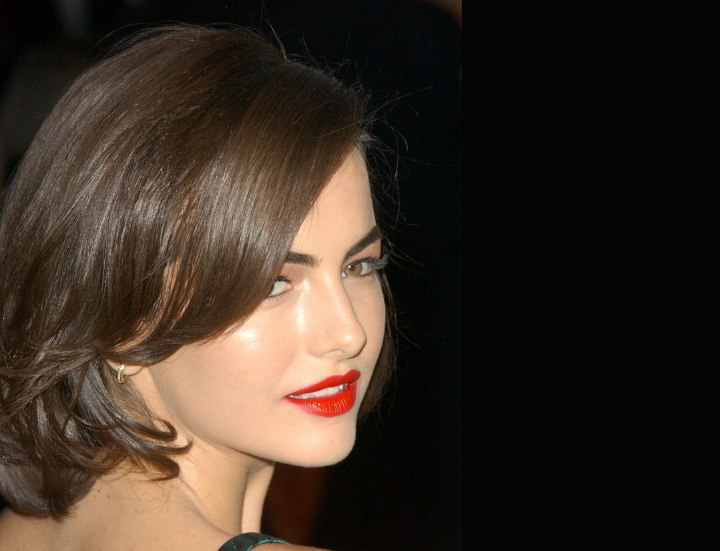 Side bangs - Camilla Belle