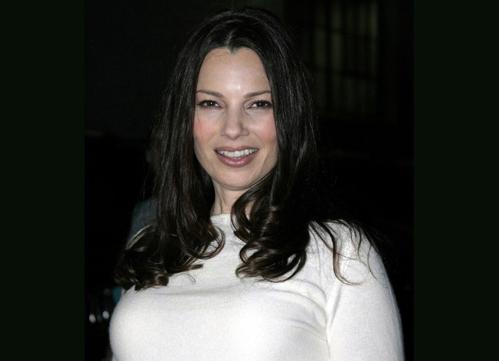 Long hairstyle for a younger appearance - Fran Drescher