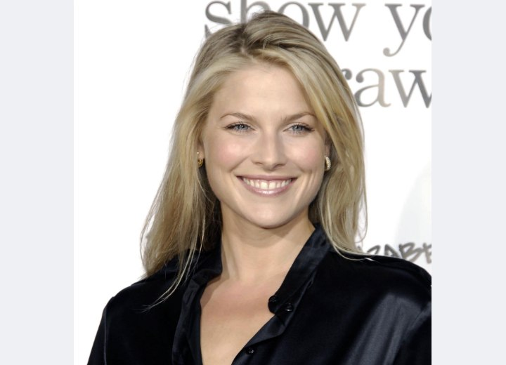 Ali Larter with long soft hair