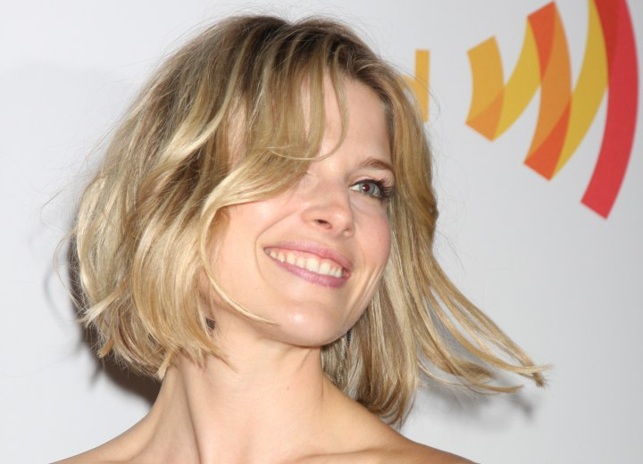 Ali Larter - Soft and flirty hairstyle