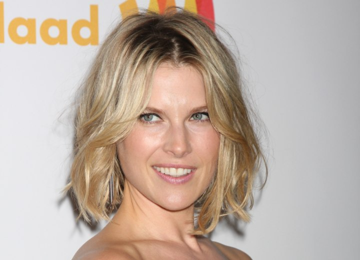 Ali Larter with full and thick hair