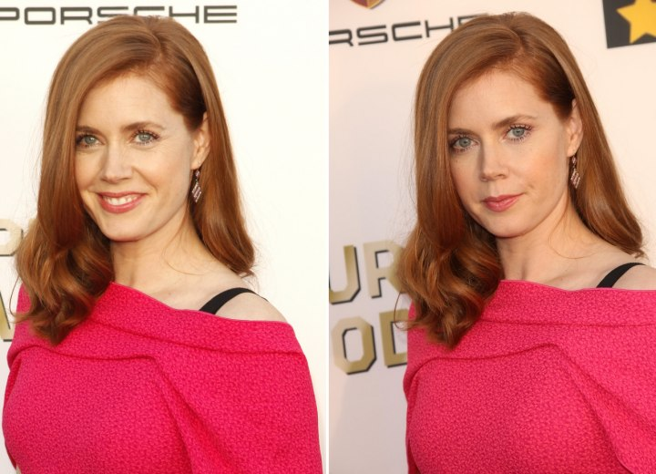Amy Adams - Long wavy hairstyle