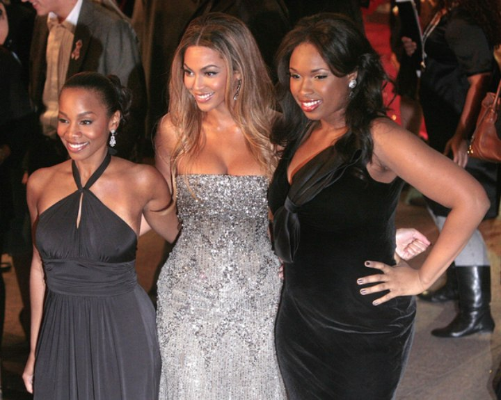 Black celebrity hair - Jennifer Hudson and Beyonce Knowles