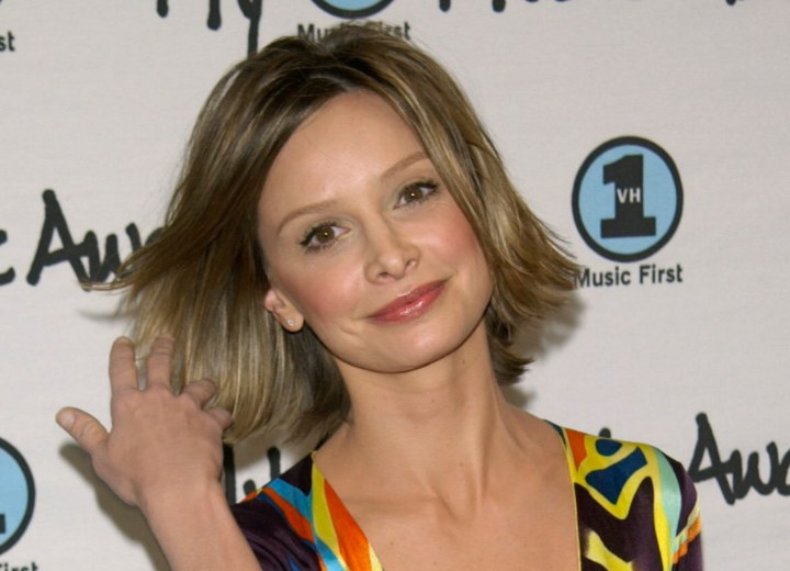 Hairstyle that takes years off - Calista Flockhart