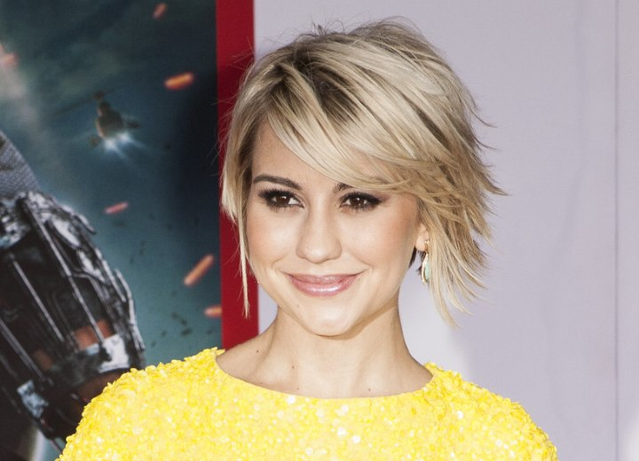 Chelsea Kane Short Bob With Flipped Out Ends And