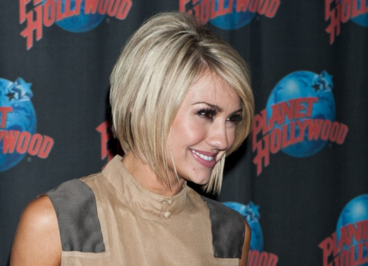 Right past the jaw bob haircut - Chelsea Kane