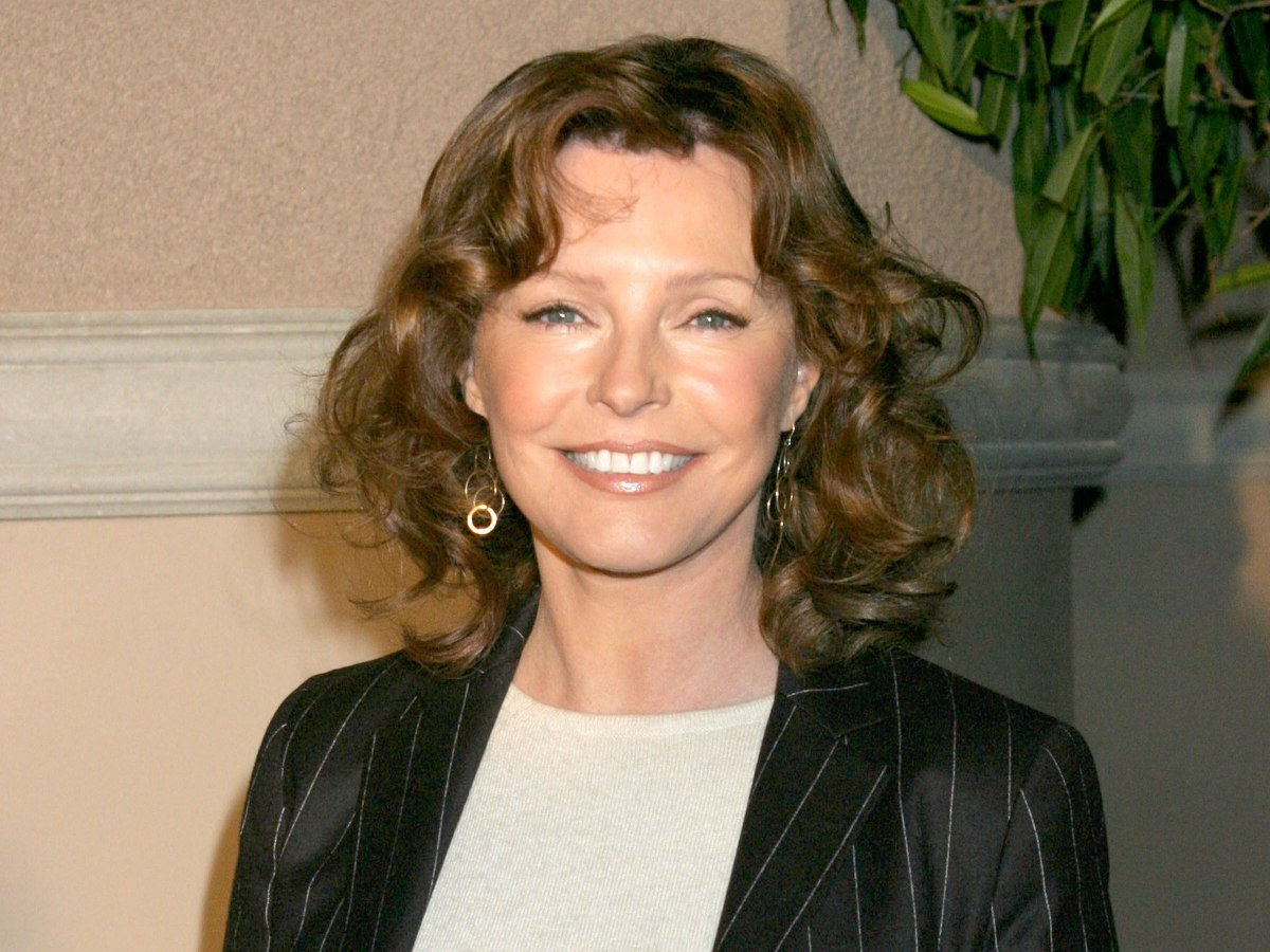 Cheryl Ladd Hairstyle With Curls And A Hair Color That