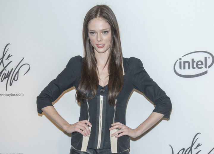 Clothes and hair for a Coco Rocha look