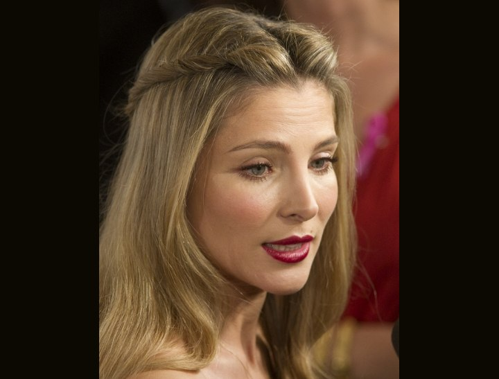 Long hairstyle for really thick hair - Elsa Pataky
