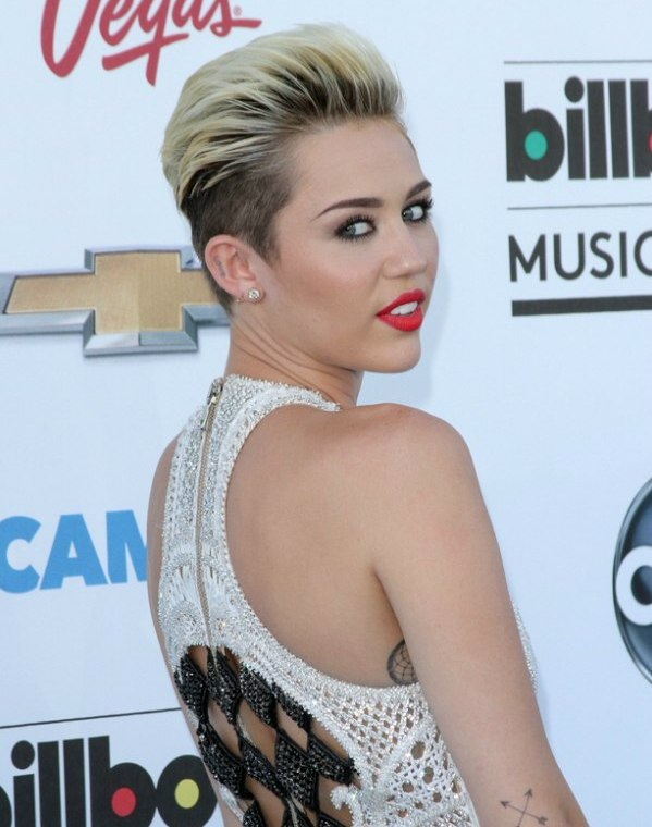 miley cyrus short haircut 2013 go back to post full size