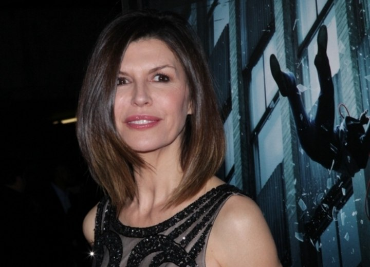 Finola Hughes - Hairstyle which works with her age