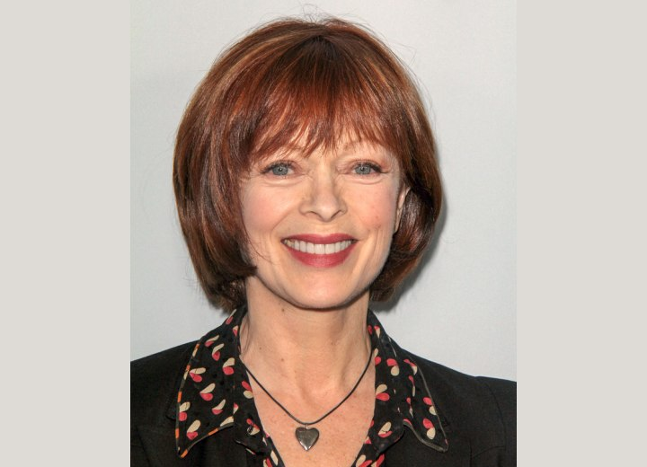 Frances Fisher - Rejuvenating 60 plus hairstyle