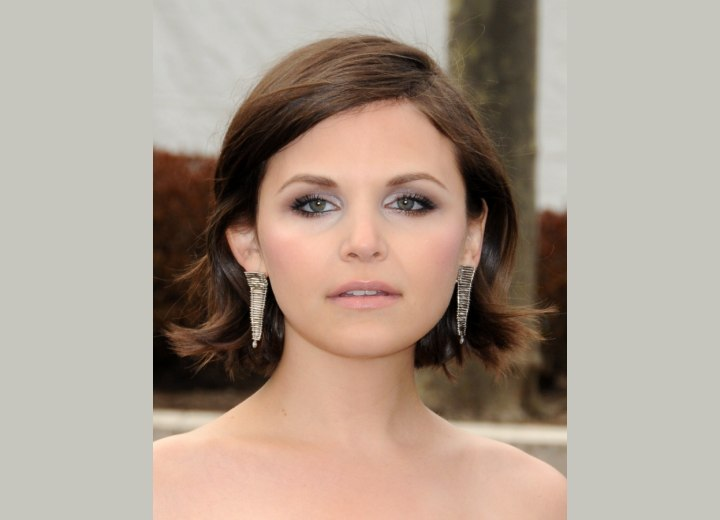Ginnifer Goodwin - Practical neck level haircut