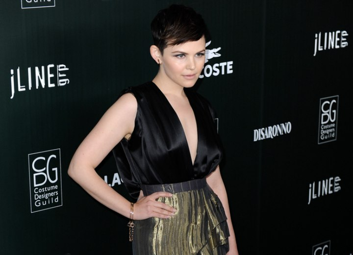 Ginnifer Goodwin's very short hairstyle