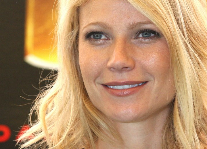 Close-up photo of Gwyneth Paltrow's hair