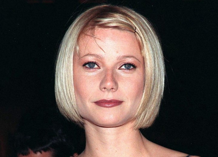 Gwyneth Paltrow - Short bob haircut