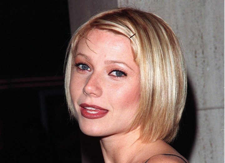 Gwyneth Paltrow with short hair