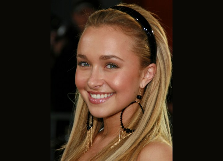 Hayden Panettiere's hair colors