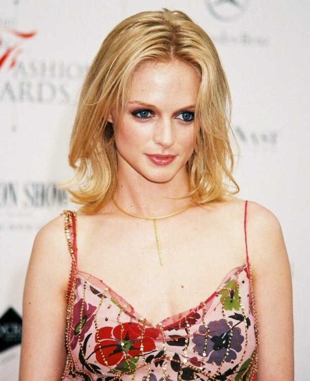 Heather Graham Mid Length Hairstyle For Fine Hair That