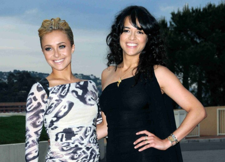 Hayden Panettiere and Michelle Rodriguez
