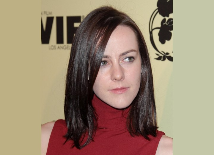Jena Malone - Brown hair color for a pale skin