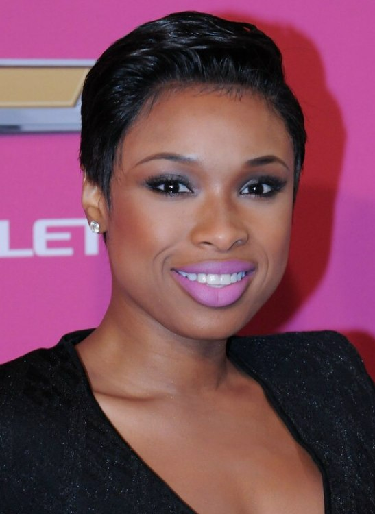 jennifer hudson hair styles hudson after chopping hair and 2238 | jennifer hudson pixie