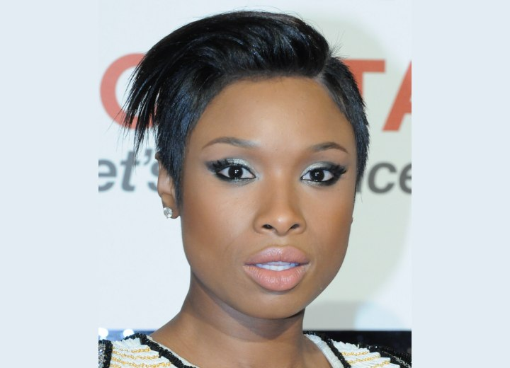 Jennifer Hudson - Pixie for black hair