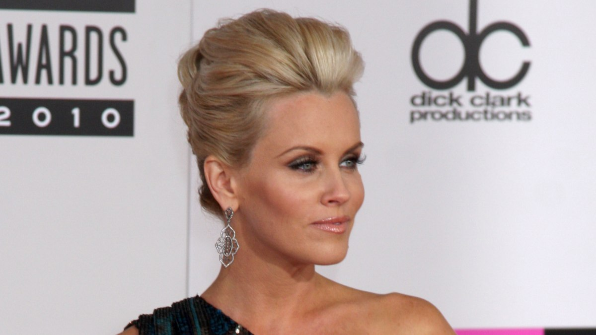 Jenny Mccarthy Fresh And Modern Updo With Mega Volume