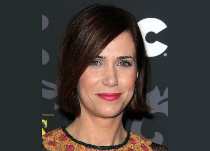 Kristen Wiig sporting a new short hairstyle