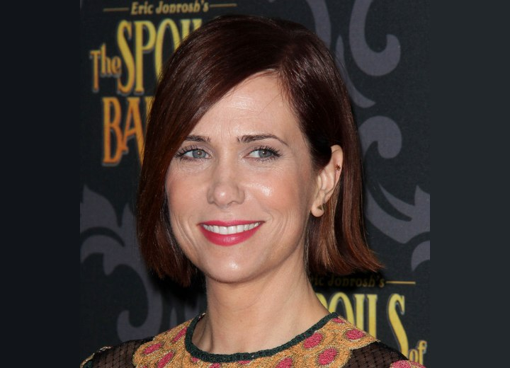 Hairstyle for a 40 year old woman - Kristen Wiig