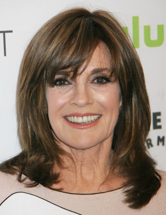 Linda Gray S Youthful Appearance Hairstyle That Takes