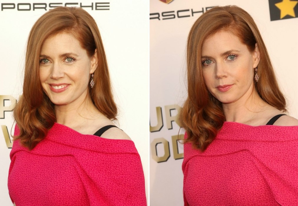 Amy Adams Long Strawberry Colored Hair That Compliments