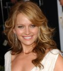Long romantic hairstyle with waves - Becki Newton