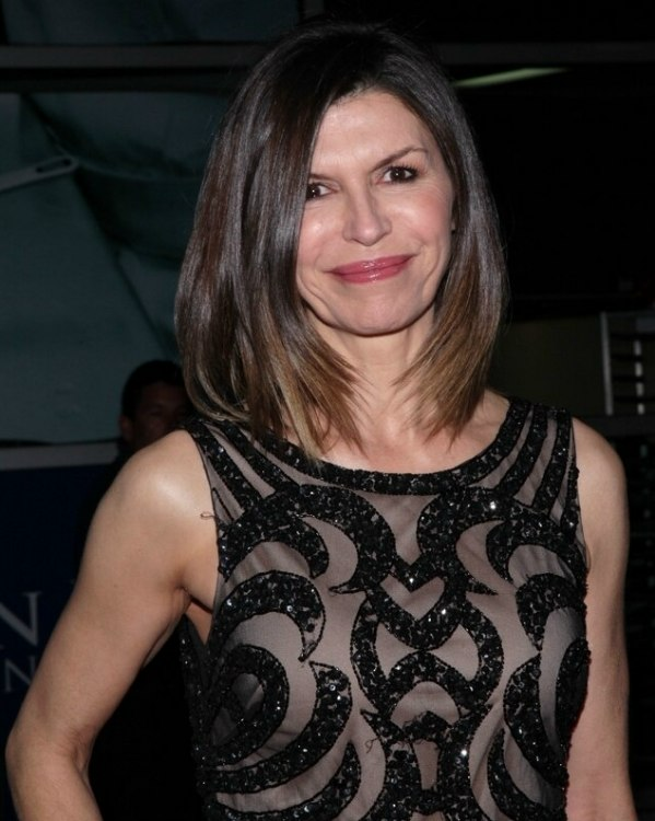 Finola Hughes - Modern hairstyle for mature ladies