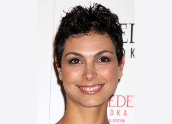 Morena Baccarin - Pixie for curly hair