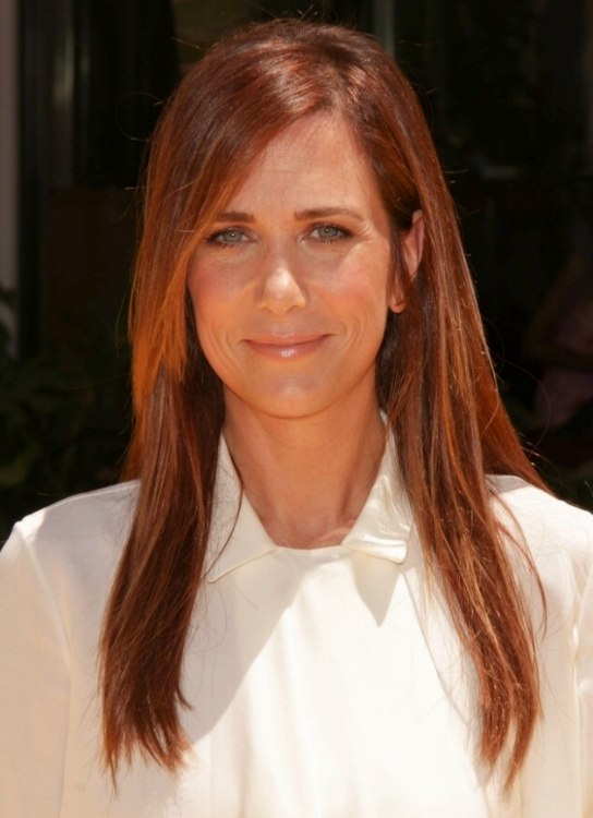 Kristen Wiig Long Way Past Shoulder Length Hair For