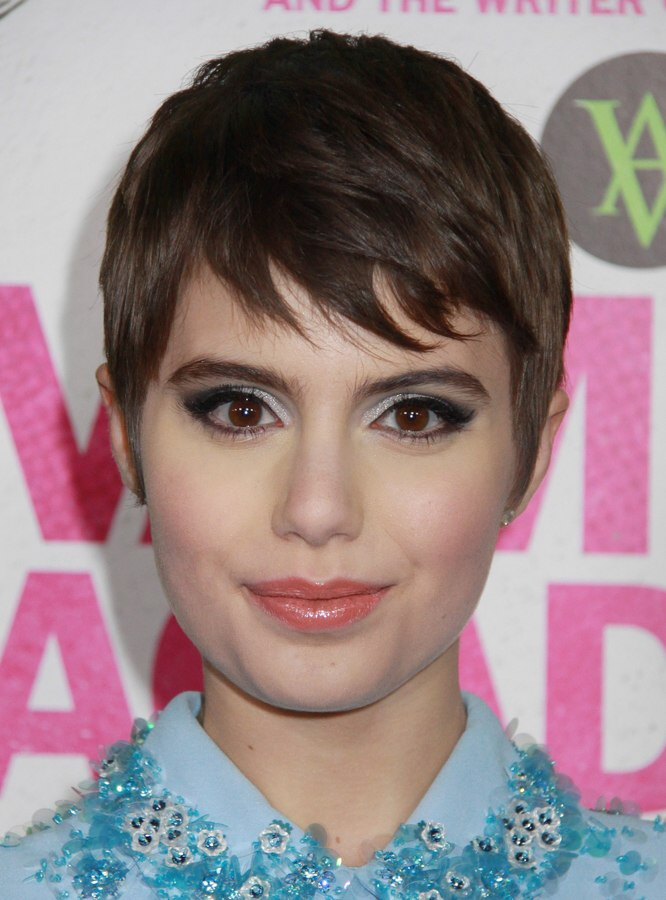 Sami Gayle Sweet Low Maintenance Pixie Haircut For A