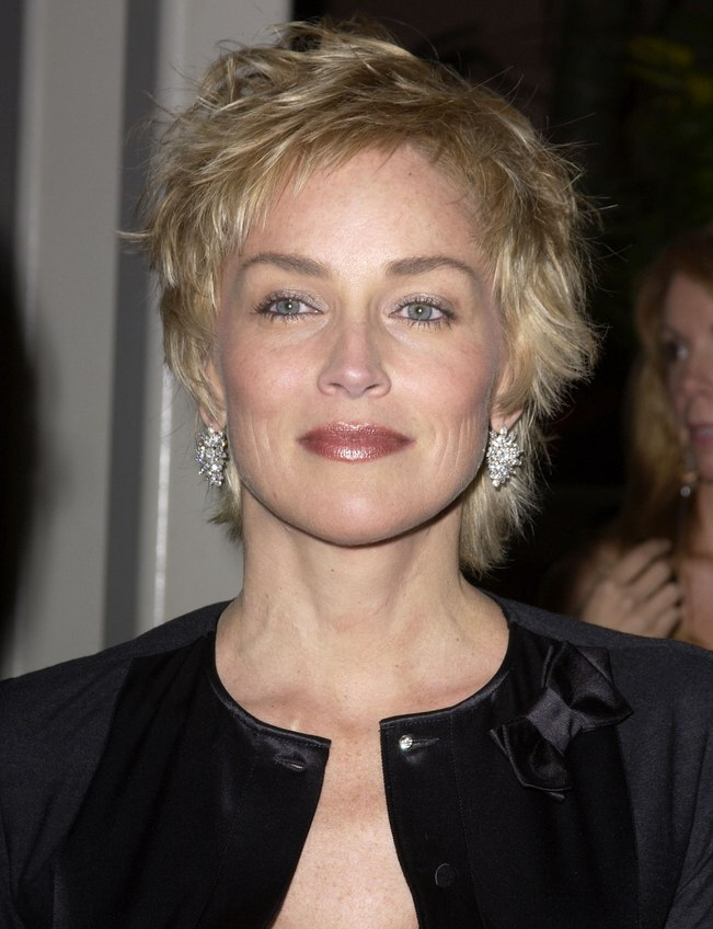 Related post more sharon stone hairstyles