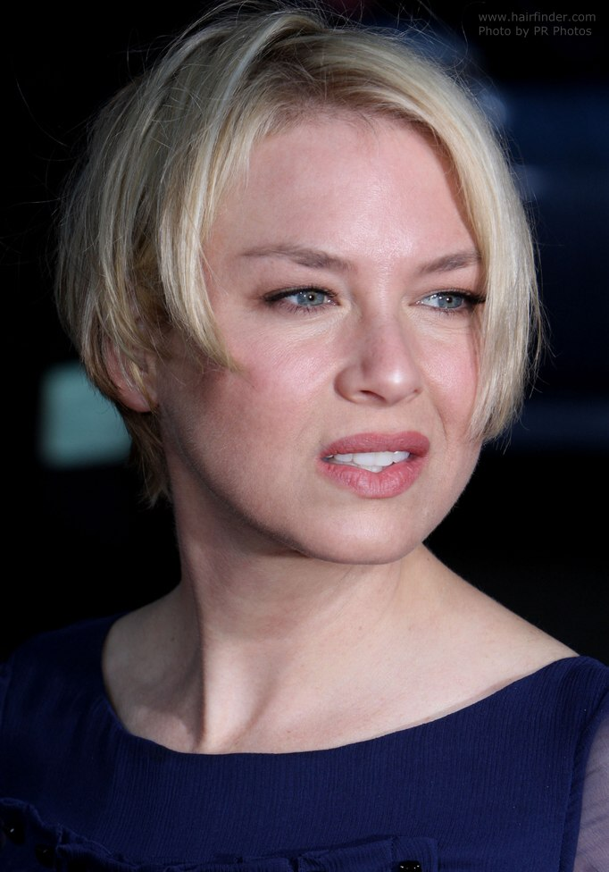 Renee Zellweger bob Plain and comfortable short - Bob Hairstyles