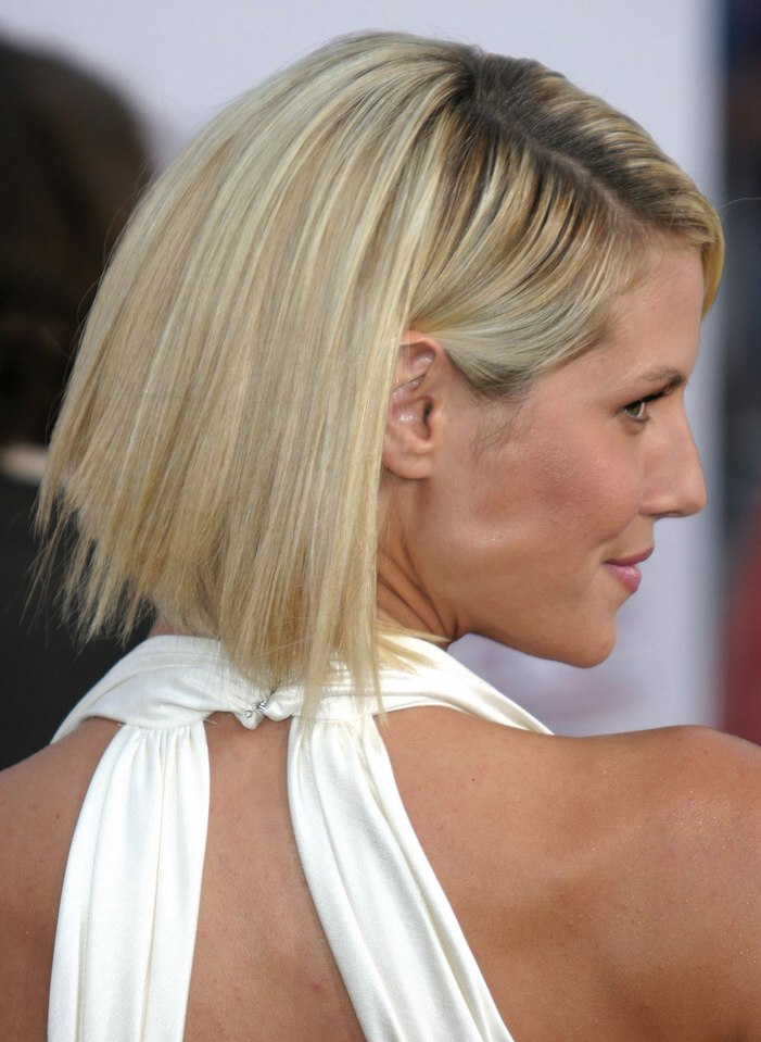Heidi Klum Her Hair Just Above Shoulders
