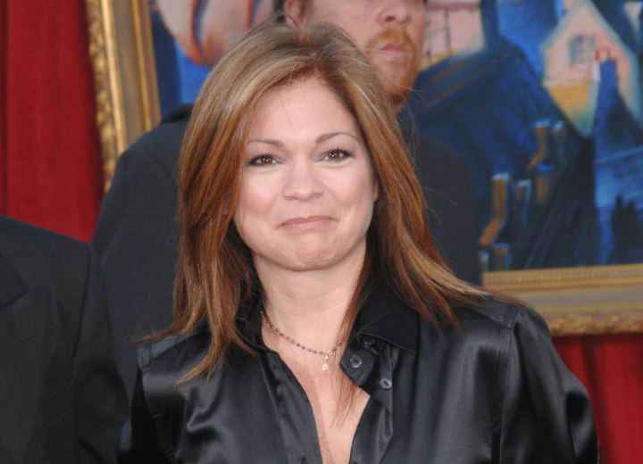 Valerie Bertinelli - Long hairstyle for older women